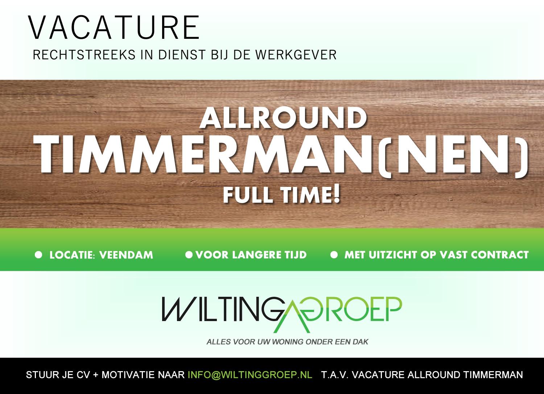 VACATURE_WILTINGGROEP