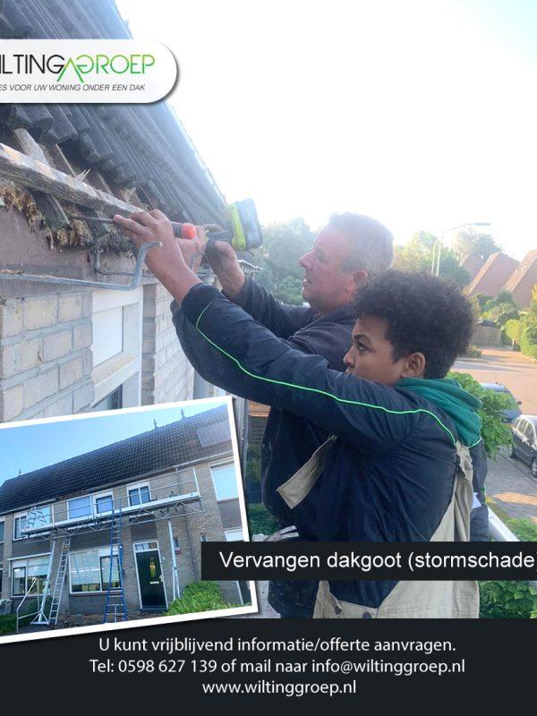 Wilting_groep_Allround_aannemer_veendam_2020-dakgoot-stormschade